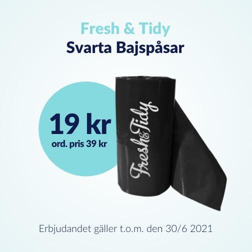 50 % rabatt på Bajspåsar från Fresh & Tidy