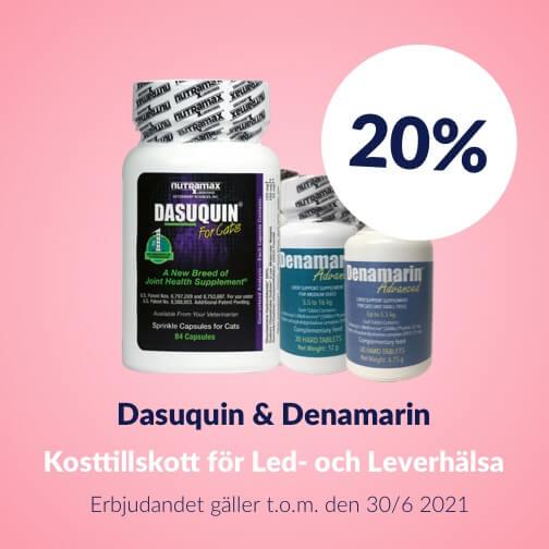 20 % rabatt på Dasuquin och Denamarin