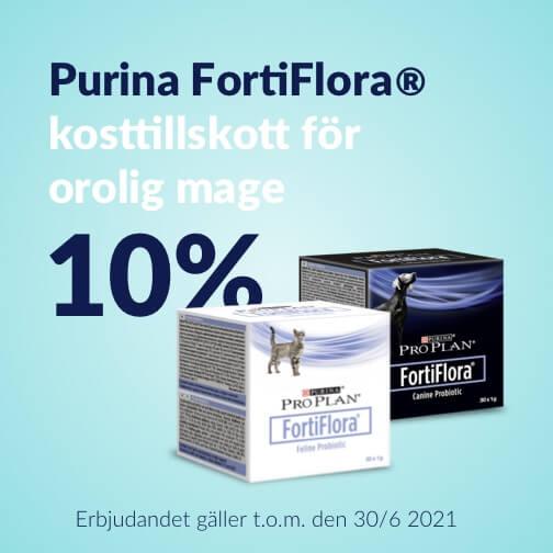 10 % rabatt på Fortiflora