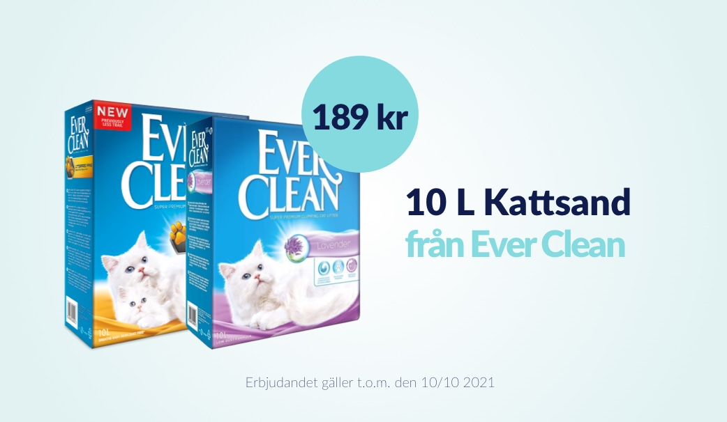 Ever Clean 10 L Kattsand 189 kr
